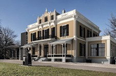 Gevelbeeld Villa Hartenstein