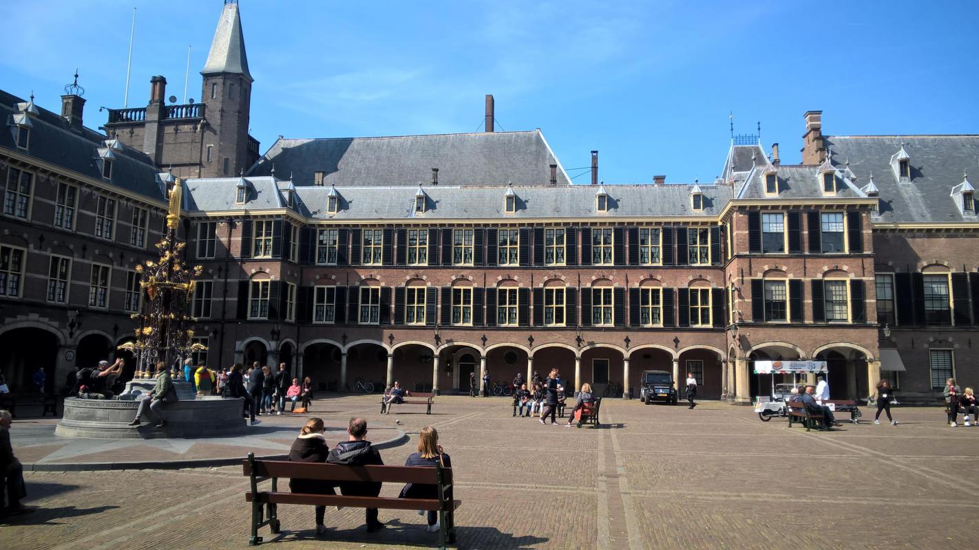 Renovatie Binnenhof, de Eerste Kamer